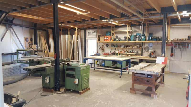 Werkplaats Waddinxveen K. de Jong